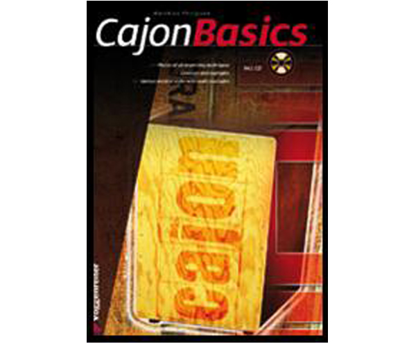 Cajon Basics Book & CD by Voggenreiter