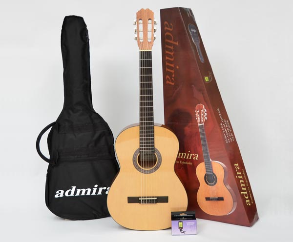 Admira Alba 4/4 Package w/Bag & Tuner