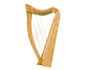 Pixie Harp-19 String w/Bag Standing