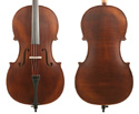 Gliga II Cello Outfit-Dark Antique 7/8