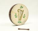 Bodhran-Tunable (46cm) 18in Rosewood Golden Harp