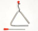 Triangle with Beater - 4 inch