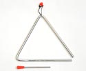 Triangle with Beater-7 inch