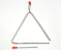 Triangle with Beater - 8 inch