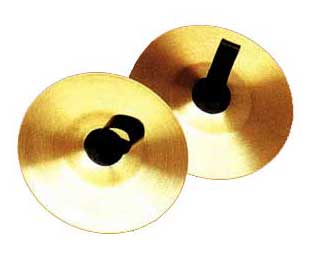 Cymbals-Brass 15cm 785/15T2 (Pair)