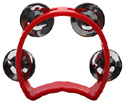 Tambourine-Mini Halfmoon 4in/4 Jing