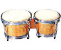 Bongos-Wood Tunable-Latin Natural