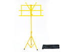 Music Stand with Bag - Yellow