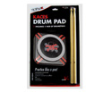 Grafix Drum Practice Pad w/Sticks Skull