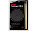 Grafix Drum Practice Pad w/Sticks Black