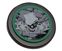 Grafix Drum 6in Practice Pad Skull Hat
