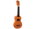 Uke-Eddy Finn Minnow with Gig Bag - Orange