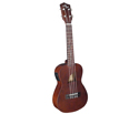 Eddy Finn Concert Uke - Basswood Matt  Electric-1CE