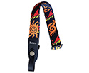 Ukulele Strap 25mm - Blue/Red 58cm