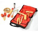 Percussion Set In Bag - 17 Pieces