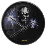 Drum Head-Holographic 22in Skull