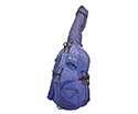 Double Bass Bag-Bobelock Blue 3/4