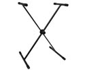 Keyboard Stand-Black w/Disc Adjust