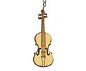 Key Chain - Wooden Violin