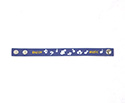 Wrist Strap (Blue) - Music Notes