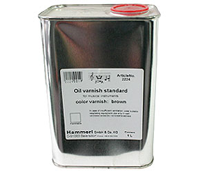 Oil Varnish-1000ml Brown