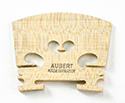Violin Bridge-Aubert France 5 Low Heart  1/4