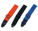 Guitar Strap-Woven Blue Or Red 50mm