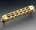 Schaller Guitar Bridge-Gold GTM 45062-12090500