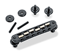Schaller Guitar Bridge-GTM w/KTS saddles  Black