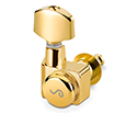 Schaller Machines 6-in-L-Locking F-Series-Gold