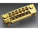Schaller Guitar Bridge-Gold 457