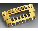 Schaller Guitar Bridge-Gold 458