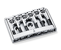 Schaller Guitar Bridge-3D6 Chrome 475