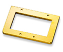 Schaller Bass Bridge Spacer-4mm Gold 483