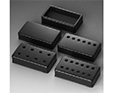 Schaller Guitar Pickup Cover-6 Hole Blk1132N