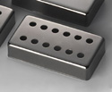 Schaller Guitar Pickup Cover-12Hole Ruthenium - 17010607