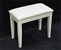 Digital Piano Stool-White