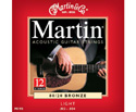 Martin Acoustic Set-Bronze 12-Str (012-052) M190