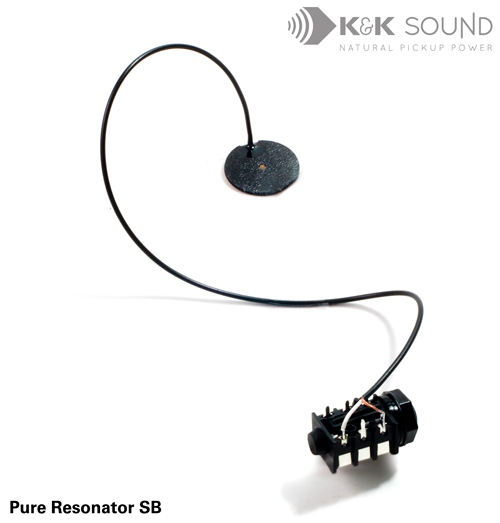 K&K Pickup-Bridge Pure Resonator SB Spider