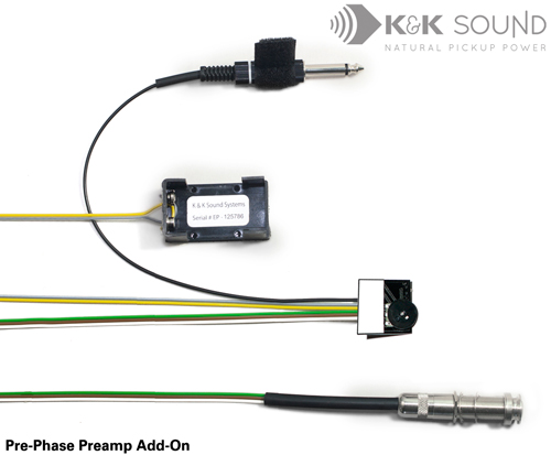 K&K Pre-Phase Mini Preamp w/Adjustment