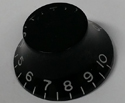 Pickboy Volume/Tone Knob-Black EGP-K4