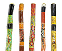 Didgeridoo 4ft (122cm) Hand-Painted W/Dot Art