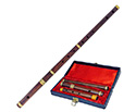 Irish Flute-Rosewood 4-Part in Case