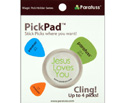 PickPad Pick Holder Jesus White