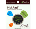 PickPad Pick Holder Jesus Black