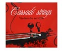 CASSADO STRINGS-Cello Rope/Tungsten G