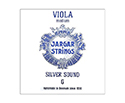 Jargar Viola String C Silver Medium-Blue