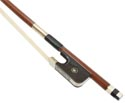 Double Bass Bow-Paul Brazilwood French Oct 3/4