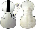 Gliga I Violin In-The-White-Guarneri