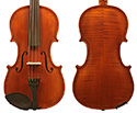 Gliga I Violin Outfit 1Pc-Back Custom Antique 4/4